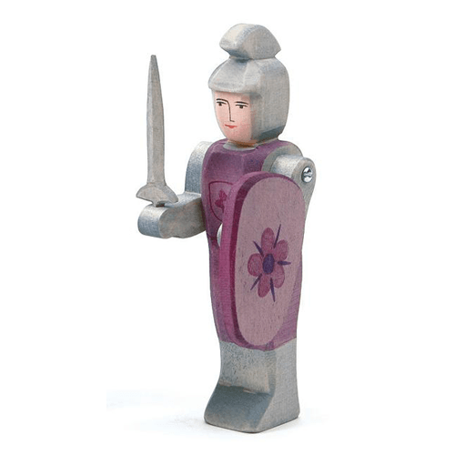 OSTHEIMER Knight standing red with sword