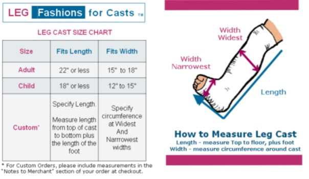Cast-Cover-Fashions-how-to-measure-leg-cast-cover