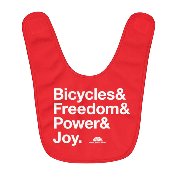 Bicycle Joy Baby Bib