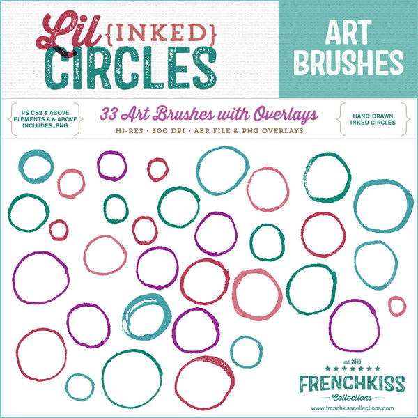 Lil Ink Circles Brushes