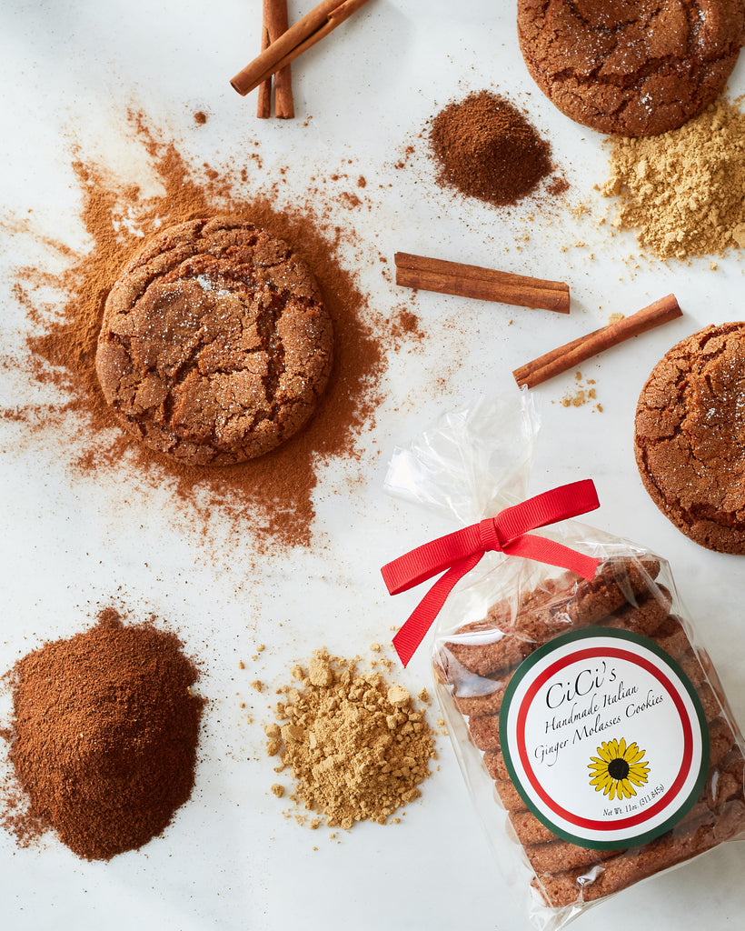 CiCi's Italian Ginger Molasses Cookies