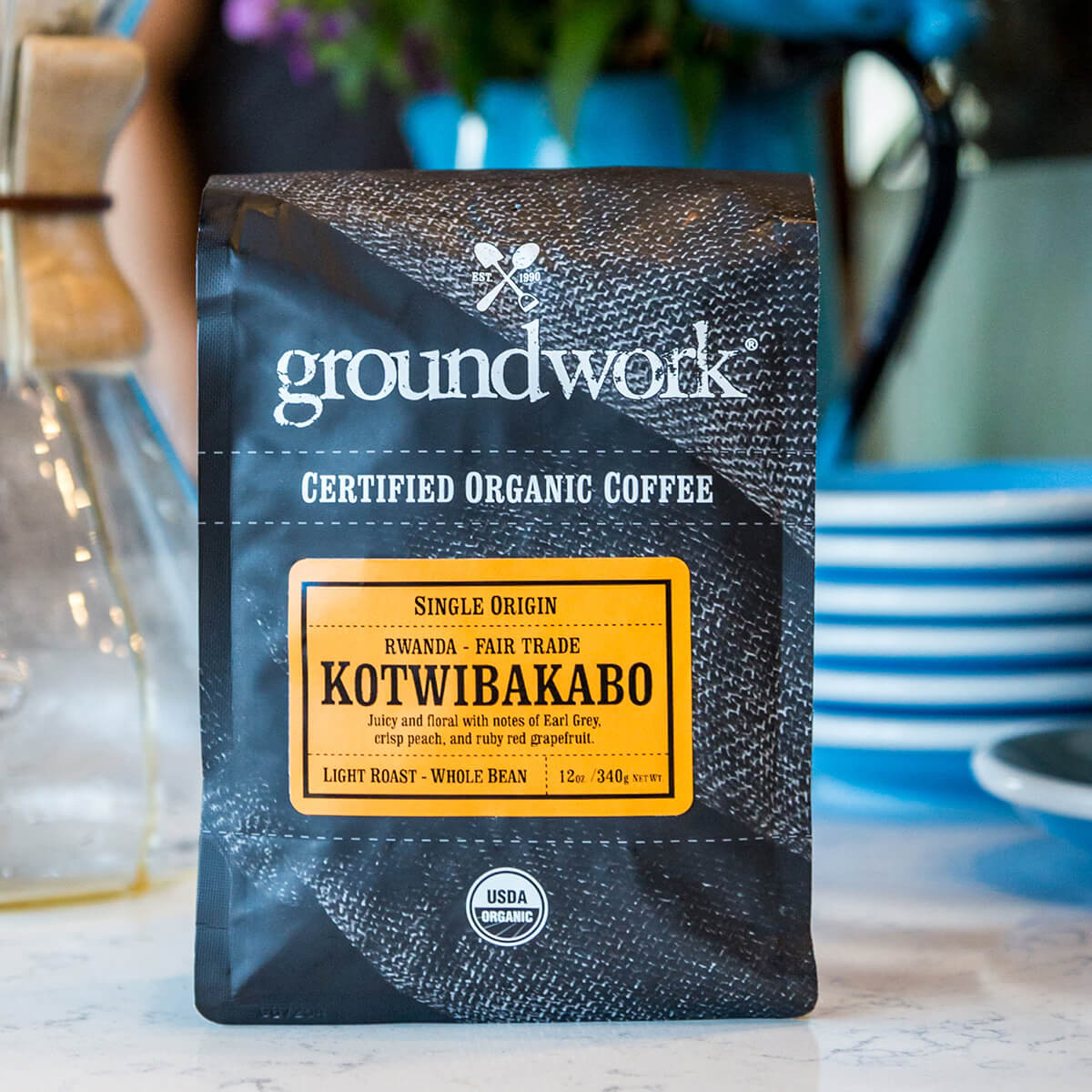 bag of Groundwork Rwanda – Kotwibakabo Fair Trade