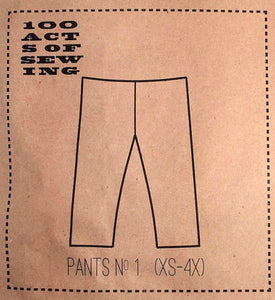 100 Acts of Sewing Patterns - Pants No. 1