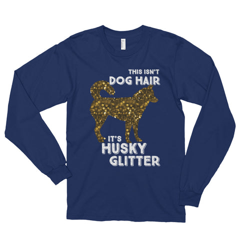 "Women's ""Husky Glitter"" Long sleeve t-shirt"