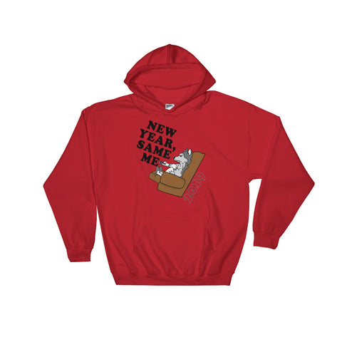 """New Year, Same Me"" Hooded Sweatshirt"
