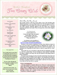 June Tea Cozy eBooklet and MP3 Audio Conversation