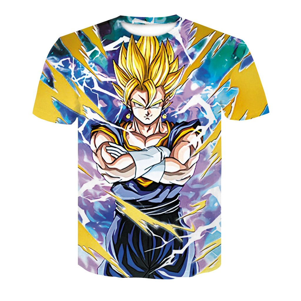 Dragon Ball Printed Short Sleeve T-shirt