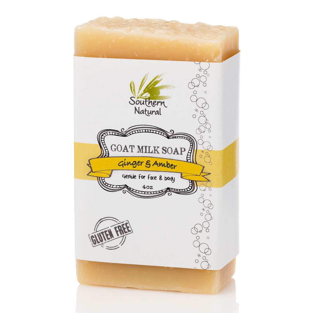 GINGER & AMBER GOAT MILK SOAP