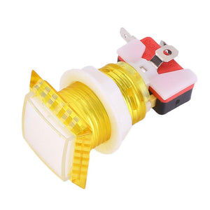 1Pcs Arcade Square LED Illuminated Push Button with Micro Switch Sensor
