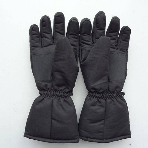1 Pair Outdoor Battery Powered Waterproof Heated Gloves  Electric Warm  Gloves Battery Powered For Motorcycle Hunting Winter Warmer Ski Gloves