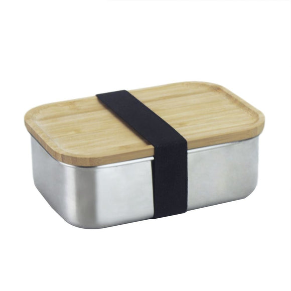 Eco et Moi - Lunch Box Inox et Bambou