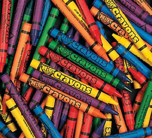 250 Assorted Color Crayons - Wholesale Vending Products