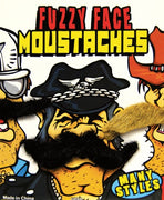 "250 Fuzzy Face Mustaches In 1"" Capsules - Wholesale Vending Products"