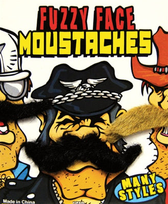 250 Fuzzy Face Mustaches In 1