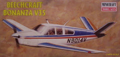1/48 Beechcraft Bonanza V35 civil model aircraft kit.