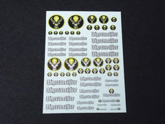 1/64 / HO Jagermeister Sponsor Sheet 3 slot car decals.