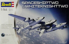 Revell 1/144 SpaceShipTwo & WhiteKnightTwo aircraft kit.