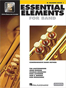 Essential Elements Bb Trumpet Book 1