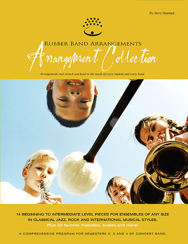 Rubber Band Arrangements Arrangement Collection - Alto Sax