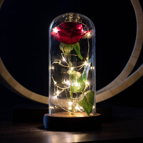 Enchanted Rose Flower Lamp: Beautiful and Unique Look