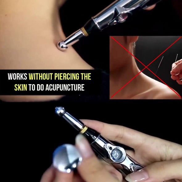 Afraid Of Needles| Try Needleless Laser Acupuncture Pen | 50% Off