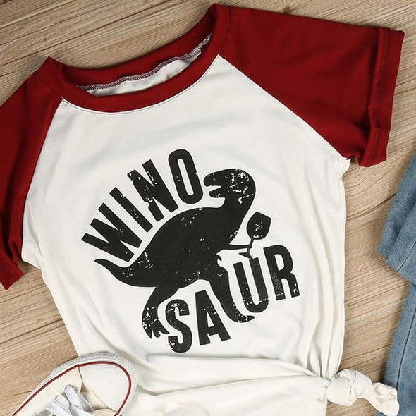 Winosaur T-Shirt: Best Deals [High Discount] + Free Shipping