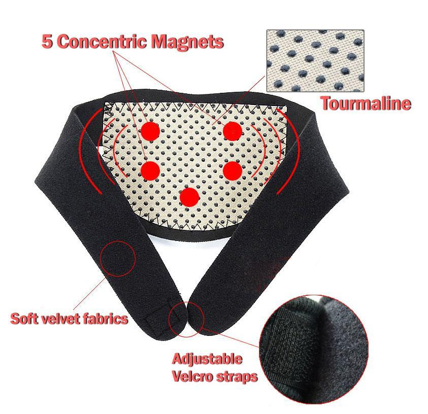 Far Infrared Magnetic Neck Wrap