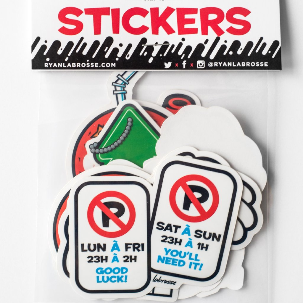 Sticker Pack - Station 16 Gallery