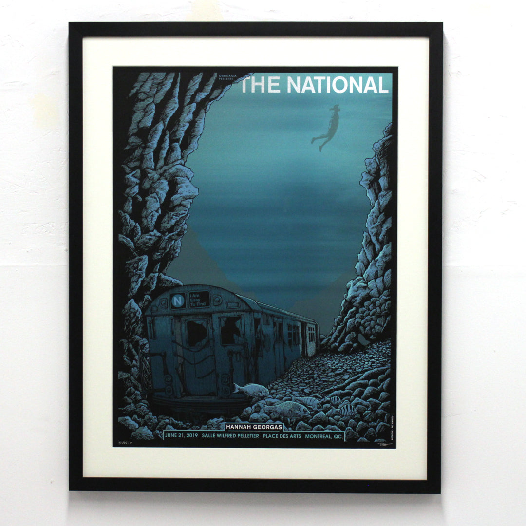 The National - Place-des-arts by Pat Hamou (Unframed)