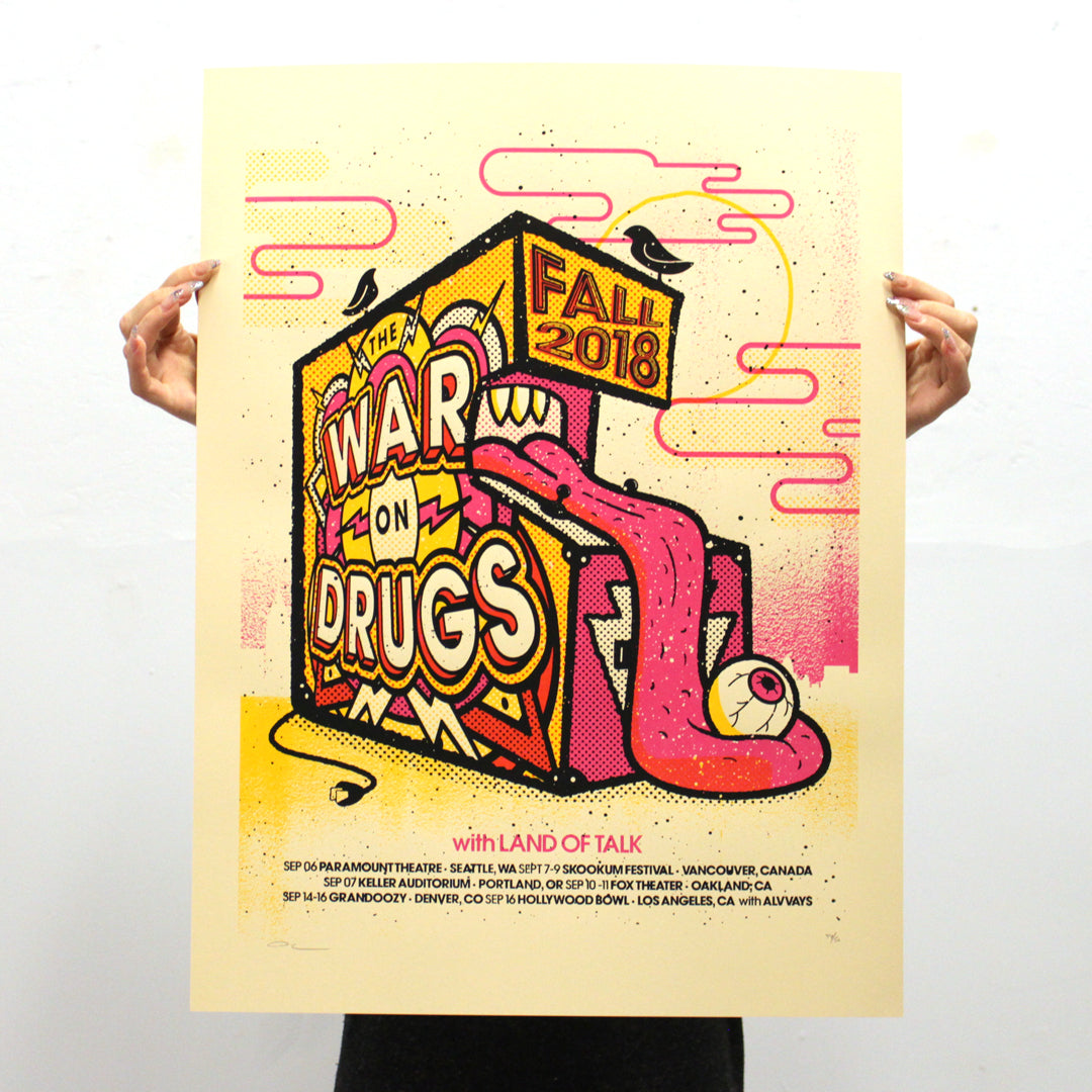 War on Drugs by Boss Construction / Andrew Vastagh (Unframed)