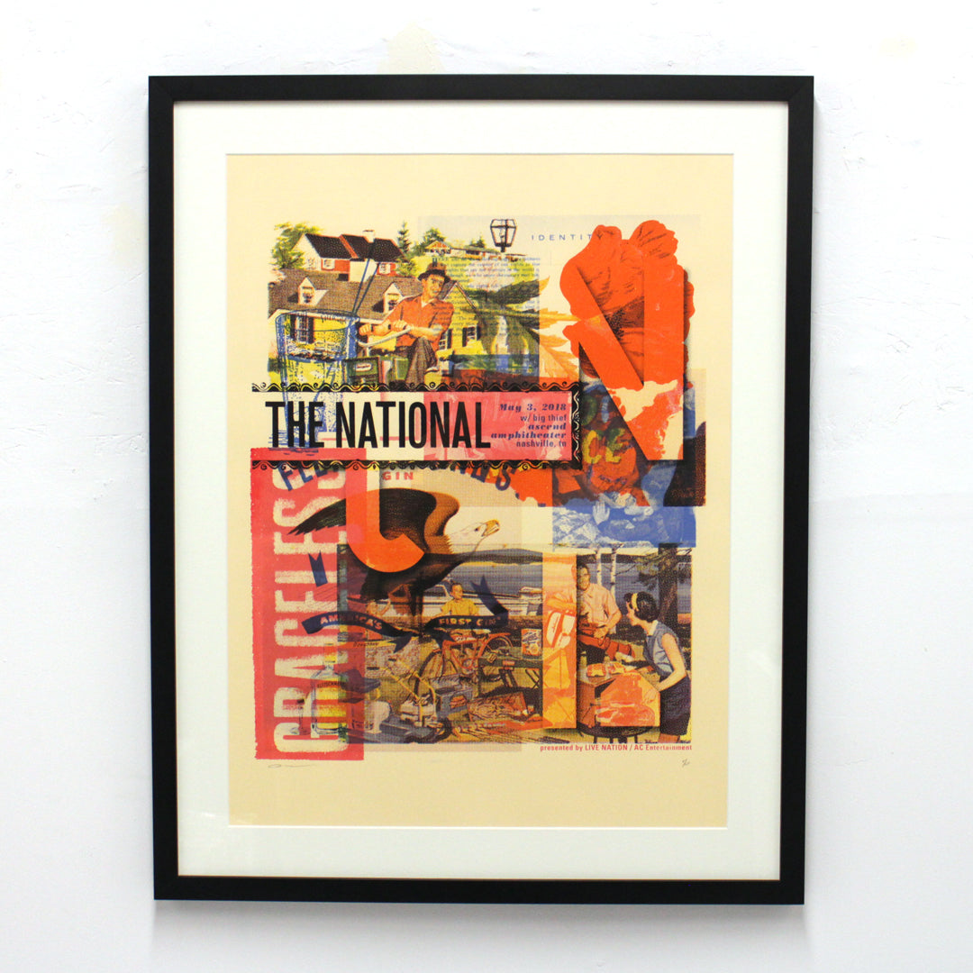 The National by Boss Construction / Andrew Vastagh (Unframed)