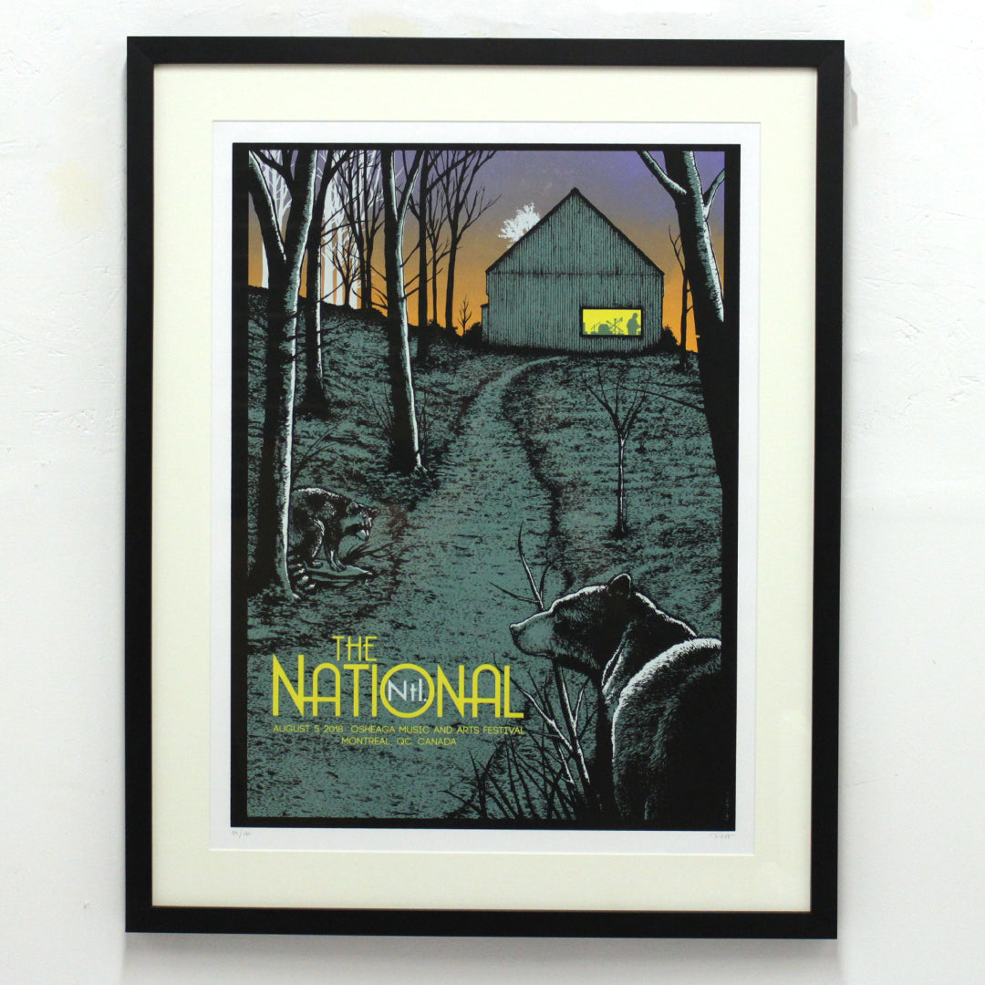 The National - 2018 Edition by Pat Hamou (Unframed)