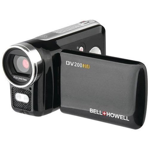 Bell+howell 5.0-megapixel Dv200hd 720p Hd Digital Video Camcorder (pack of 1 Ea)