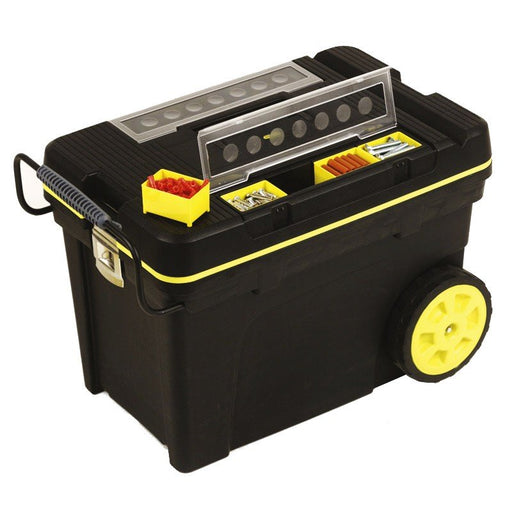 Stanley Job Chest Mobile Rolling With Organisers 1-92-904