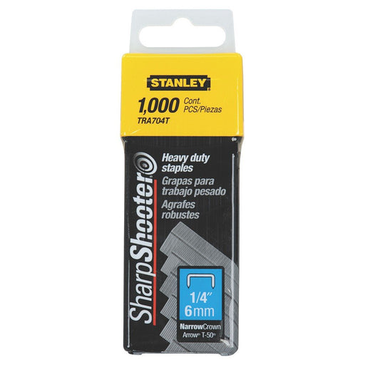 Stanley Staples Heavy Duty 6mm TRA704T