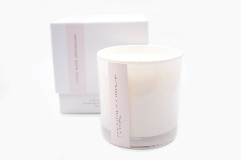 beloved soy scented candle gift box