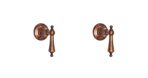 Wall Taps - Metal Levers