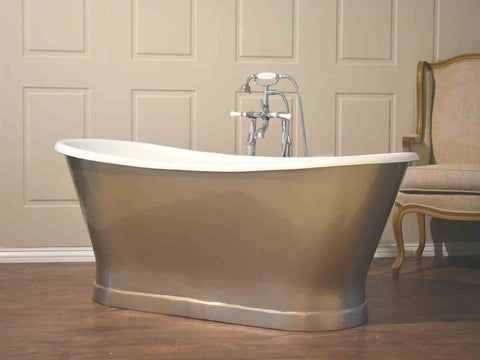 Freestanding Cast Iron Bath