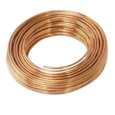 COPPER WIRE 26 GA ROUND DEAD SOFT 0.41MM 50FT-Transcontinental Tool Co