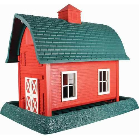 Village Collection Barn Bird Feeder