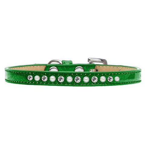 Pearl and Jewel Puppy Ice Cream Collar - Green
