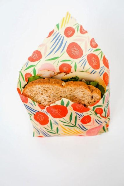 Beeswax Food Wraps - Bloom 3-Pack