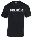 Believe Tee - Black