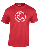 Circle of 3E Love  T-shirt - Red