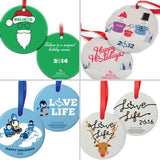 Past 3E Love Ornaments (2009-2017)