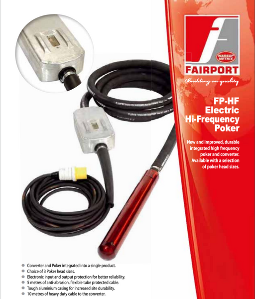 Fairport HF115 LED Hi Frequency Poker