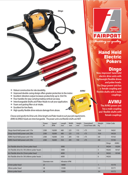 Fairport Hand Held Electric Pokers