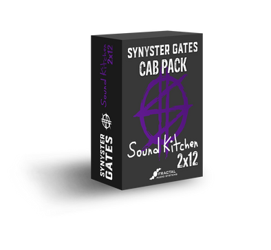 Synyster Gates 2x12 Sound Kitchen, based on an Audio Kitchen™ for Axe-Fx III, Axe-Fx II, AX8