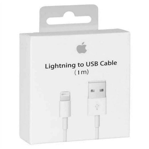 Data Cable Charge & Sync Cable for Apple iPhone 7 Devices- 1 M-White