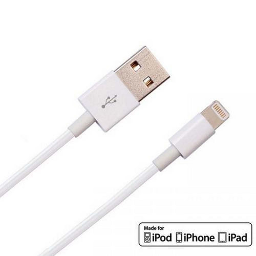 Duisah Data Cable Charge & Sync Cable for Apple iPhone 6S Devices- 1 M – White